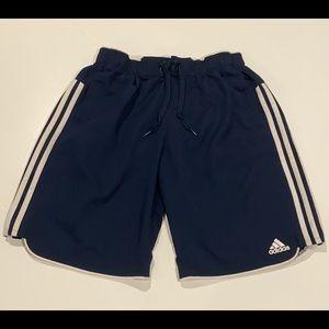 2/$25 Adidas Classic Navy Shorts